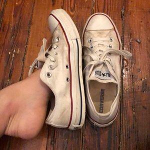 Very well worn sneakers